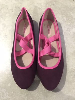 Old Navy Girl's Elastic-Strap Ballet Flats, Size 3 for Sale in San Diego, CA