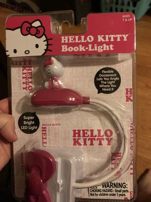 Hello kitty book light for Sale in Jersey City, NJ