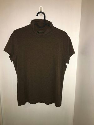 Ralph Lauren Women's Brown Turtle Neck Shirt size small for Sale in West Springfield, VA
