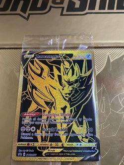 Pokémon Zamazenta V Gold SWSH077 how do you cook or for Sale in Stockton,  CA