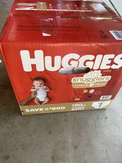 Huggies Lil Snugglers Size 1 for Sale in Fontana, CA