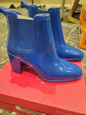 Brand new still in box Size 10 blue rain boots for Sale in South Jordan, UT