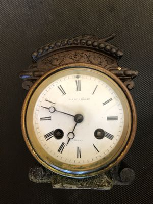 Antiques French Clock Part. Working. for Sale in Westminster, CA