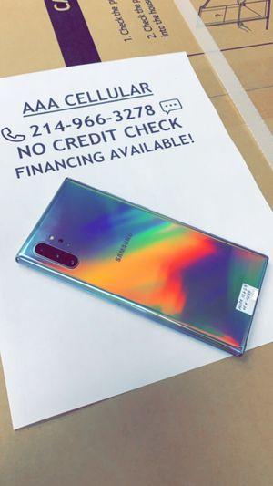 Galaxy Note 10+ 256GB Unlocked! (Verizon, T-Mobile, AT&T, Cricket, Metro!) for Sale in Arlington, TX