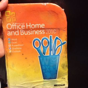 Microsoft office home and business 2010 for Sale in Austin, TX
