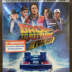 Back To The Future 4K (Digital not Included) (NEW) for Sale in Brea, CA