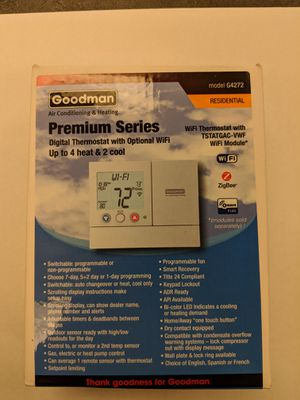 Goodman G4272 Thermostat 4H/2C for Sale in Columbus, OH
