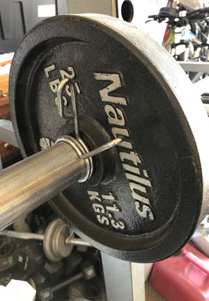 Nautilus squat, pull down bench press weight set for Sale in Fontana, CA