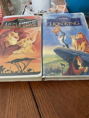 Disney vhs movies for Sale in Ontario, CA