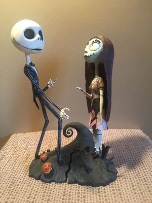 Nightmare Before Christmas Jack & Sally Bobble Heads NECA for Sale in Pittsburgh, PA