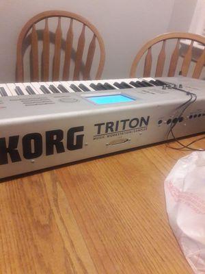 Korg triton for Sale in Manassas, VA