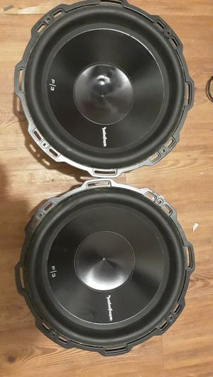 "Punch P3 12"" subwoofer with dual 4-ohm voice coils for Sale in Auburndale, FL"
