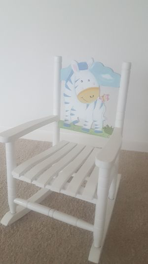 CHILD/KIDS ROCKING CHAIR BY TEAMSON for Sale in Joliet, IL