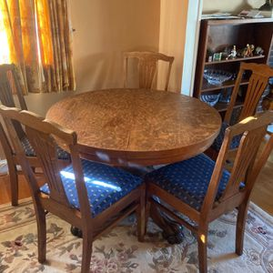 Antique Wood Dining Table for Sale in Falls Church, VA