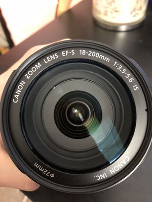 Canon 18-200mm F/3.5- 5.6 for Sale in Ijamsville, MD
