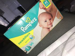 Pampers Swaddlers size 1 for Sale in Highland, CA