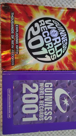 Guinness book of world records for Sale in Lynnwood, WA