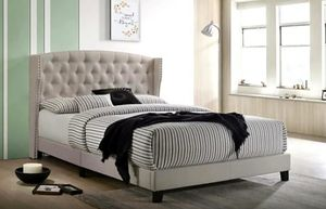 New Beige Queen size Bed Frame for Sale in Austin, TX