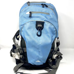 High Sierra blue & gray Loop Backpack 5 Zippered Compartments W/Laptop Sleeve for Sale in Prairie View, IL