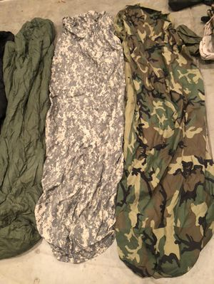 Military grade sleeping bags hiking/camping/hunting for Sale in Clovis, CA