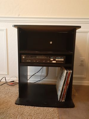 Media stand, holds stereo, amplifier, records used for turntables, dj stand for Sale in Chandler, AZ