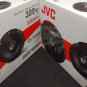 Car speakers: JVC ( 2 pairs ) 6.5 inch 2 way 300 watts car speakers Brand new for Sale in Downey, CA