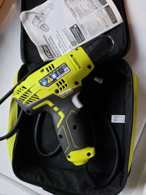 RYOBI drill 3/8 in for Sale in Riverside, CA