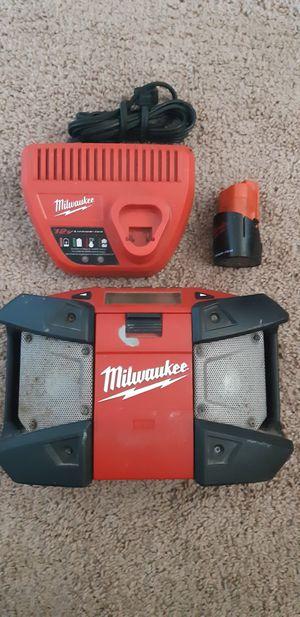 MILWAUKEE M12 RADIO for Sale in San Diego, CA