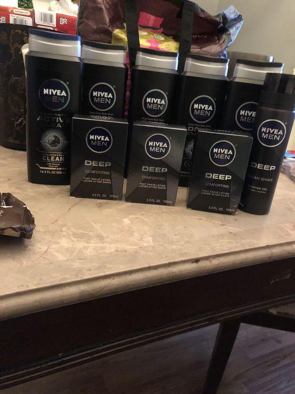 Men's Nivea Lot bodywash and Shave items