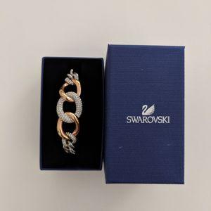 Swarovski Bound Crystal Pave Chain Stainless Steel Bracelet for Sale in Chandler, AZ