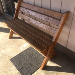 Wood Benches And Side Table for Sale in Selma, CA