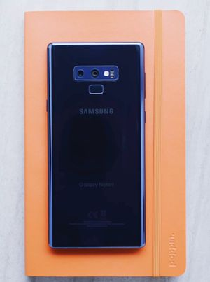 Samsung Galaxy Note 9,, Factory Unlocked&Clean IMEI+Any Carrier. for Sale in Springfield, VA