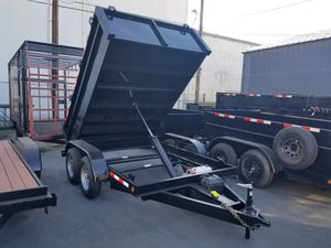 8 x 10x2 Dump Trailer BRAND NEW!!! for Sale in Los Angeles, CA