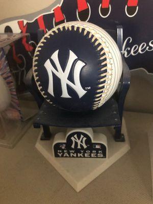 New York Yankees Baseball with Mini Chair for Sale in Boca Raton, FL