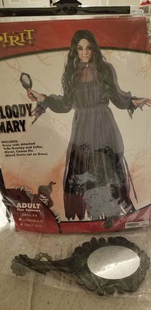 Bloody Mary Adult costume size (S)6-8 for Sale in Moreno Valley, CA