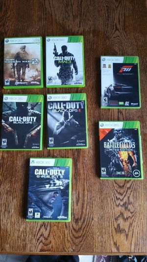 Xbox 360 games $5ea or $20 for all for Sale in Pittsburgh, PA