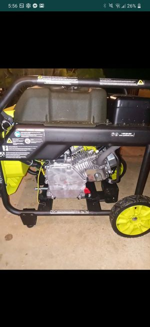 4000w RYOBI generator for Sale in Atlanta, GA