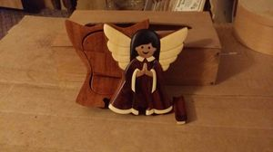Angel puzzle box for Sale in Casa Grande, AZ