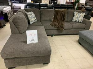 ♨️♨️ Best Offer ♨️SPECIAL] Dalhart Hickory RAF Sectional 🙋‍♀️🙋‍♀️🙋‍♀️ for Sale in Jessup, MD