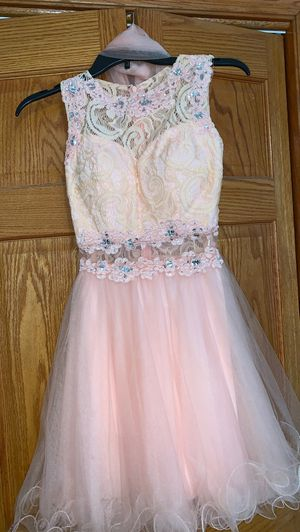 blush special occasion dress for Sale in West Chicago, IL