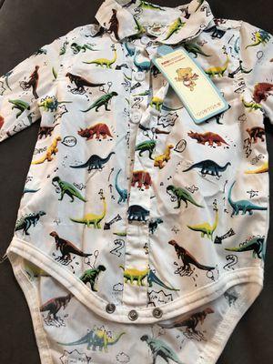 Dino Onesie Button Up for Sale in Victoria, TX