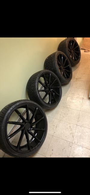 Vossen wheels 22inches for Sale, used for sale  Queens, NY