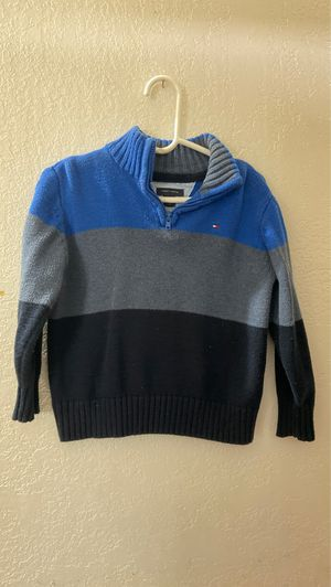 Toddler boys Tommy Hilfiger dressy sweater size 3t for Sale in Ontario, CA