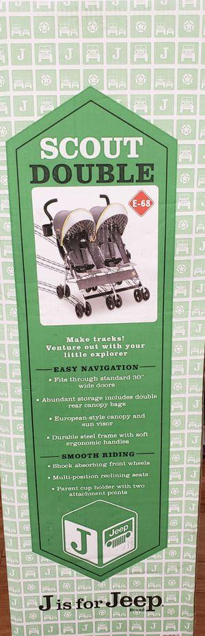 Brand new unopen box double stroller for Sale in Alexandria, VA