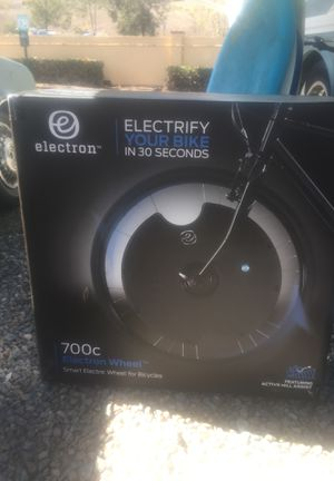 700c electron wheel for hybrid electric bicycles for Sale in San Diego, CA