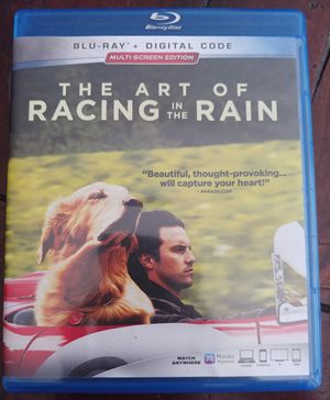 THE ART OF RACING IN THE RAIN (BLU RAY) ***SEE OTHER POSTS*** for Sale in El Cajon, CA