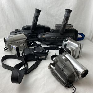 Lot Of 6 Camara Video Untested for Sale in Antioch, CA