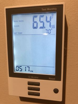 Heated Floor thermostat OJ Microline for Sale in Woburn, MA