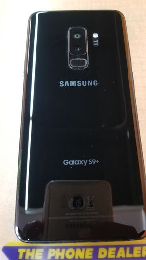 Unlocked samsung s9 Plus 64g black excellent for Sale in Santa Clara, CA