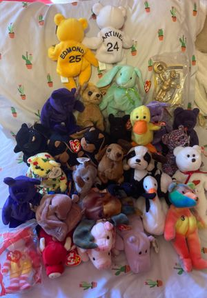 Lot of PVC beanie babies + 3 Bamm Beanos + 2 Toys for Sale in Wheaton, IL